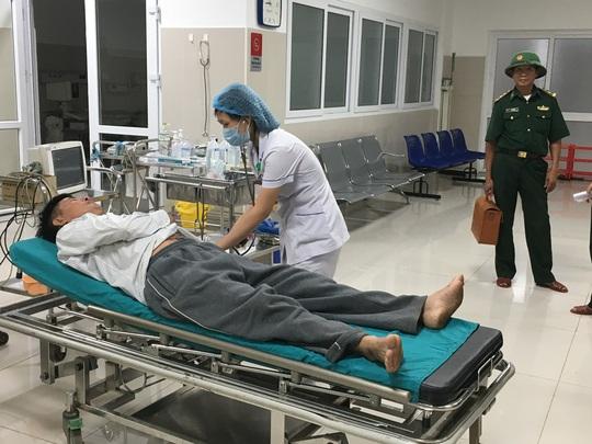 Thuyền viên đang được điều trị tại BV hữu nghị Việt Nam- Cu Ba Đồng Hới