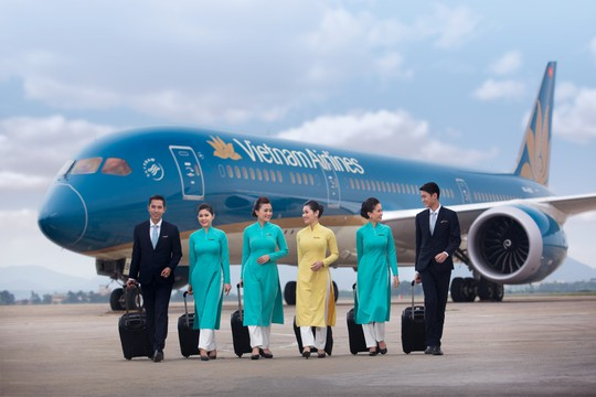 Tổ bay của Vietnam Airlines