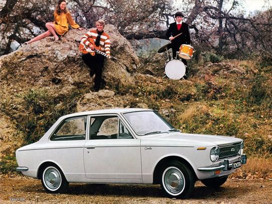 Chiếc Corolla 1966 đã góp phần không nhỏ vào thành công của Toyota sau này