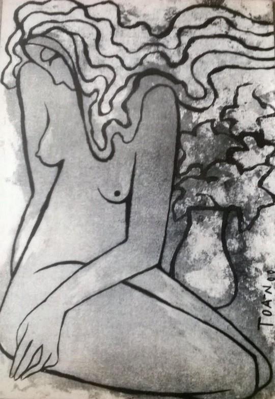 Bút tích và tranh của Nguyễn Đức Toàn
