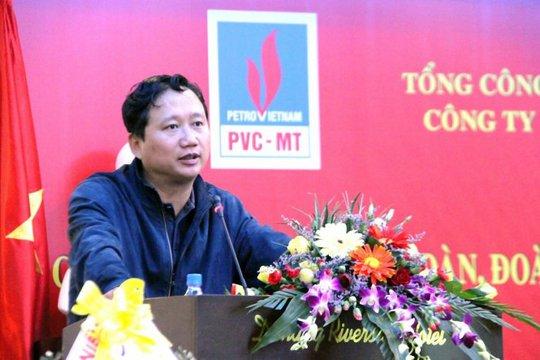 Ông Trịnh Xuân Thanh thời còn điều hành tại PVC - ảnh PVC.vn