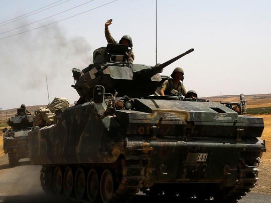 Thổ Nhĩ Kỳ đang tìm cách thiết lập vùng an toàn bên trong Syria. Ảnh: Reuters