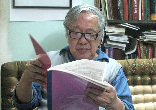 Nhạc sĩ - hoạ sĩ Nguyễn Đức Toàn lúc sinh thời