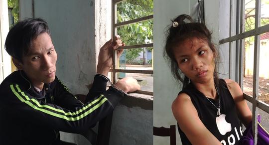Huỳnh Thanh Phong (25 tuổi) và Lê Bích Nhi (19 tuổi, cùng quê ở Long An)