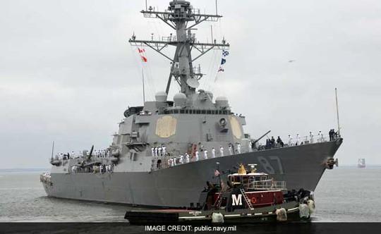 Phát ngôn viên Lầu Năm Góc cho biết 2 tên lửa nhắm vào tàu chiến Mỹ ở ngoài khơi bờ biển Yemen. Ảnh: Public Navy mil