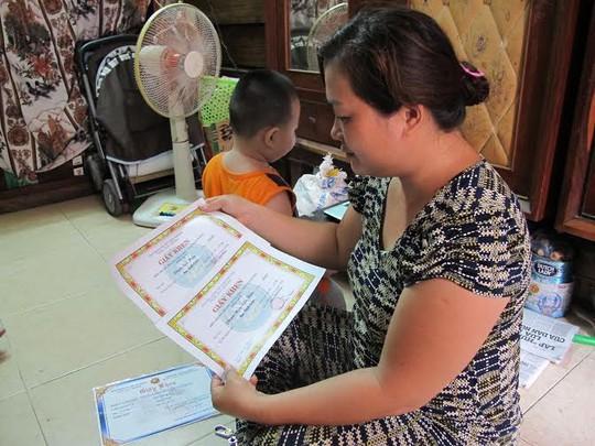 Các con của Mai Thị Ngọc Vân đều học rất giỏi, con nhỏ nhất mới 37 tháng tuổi