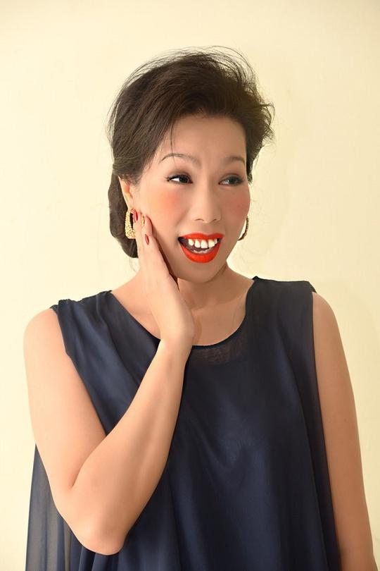 Hóa trang gương mặt xấu xí là quyết định thử nghiệm mới của Trịnh Kim Chi trong vai kịch sắp tới