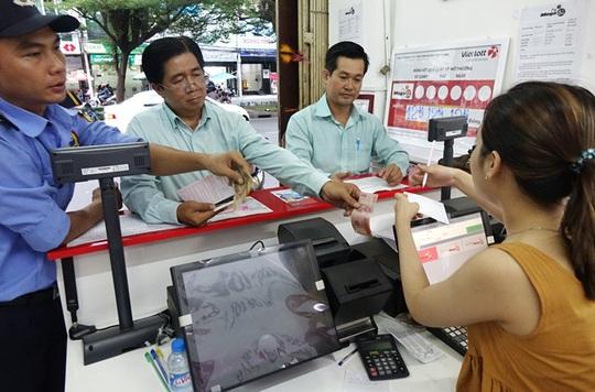 Vé số điện toán đang gây bão trên thị trường vé số