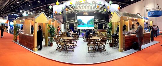 Gian hàng Việt Nam tham dự Hội chợ Du lịch Quốc tế tại London (Anh) 2016