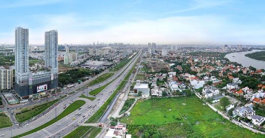 Hạ tầng giao thông tốt ở khu Đông thành phố