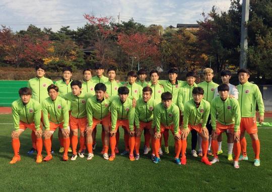 Đối thủ Hàn Quốc có thể hình và lối chơi thiên về thể lực đã gây rất nhiều khó khăn cho tuyển Việt Nam