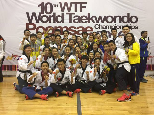 Taekwondo Việt Nam đoạt 2 HCV quyền thế giới