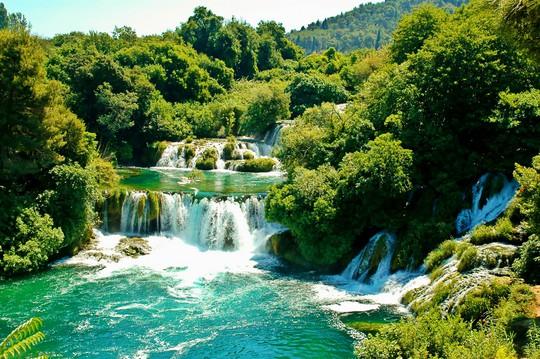 Một góc Vườn Quốc gia Plitvice - Ảnh: Thanh Hương