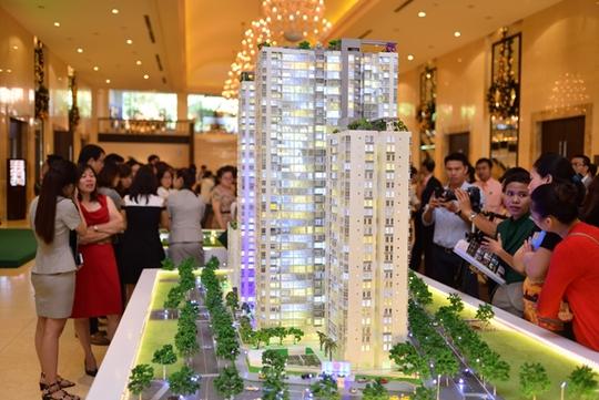 300 căn hộ đã được đăng ký giữ chỗ trong buổi giới thiệu dự án