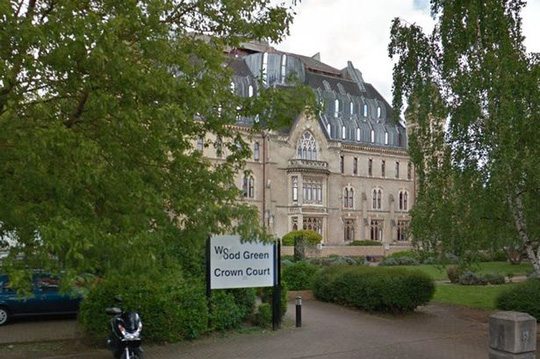 Tòa án Wood Green Crown, nơi đang xét xử vụ án. Ảnh: Google Maps
