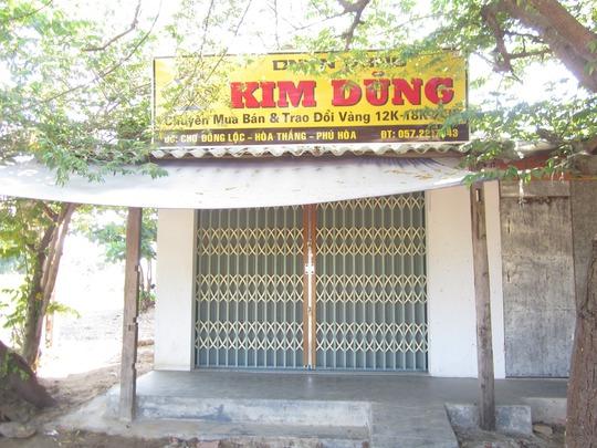 Tiệm vàng Kim Dũng phải đóng cửa nhiều ngày sau khi bị cướp