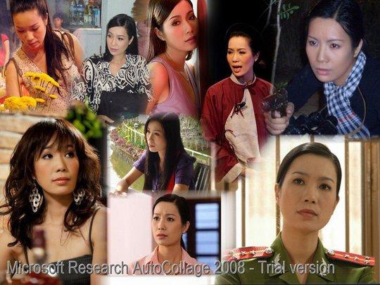Chân dung những vai diễn của NSƯT Trịnh Kim Chi do cô tự thiết kế mẫu lịch gia đình