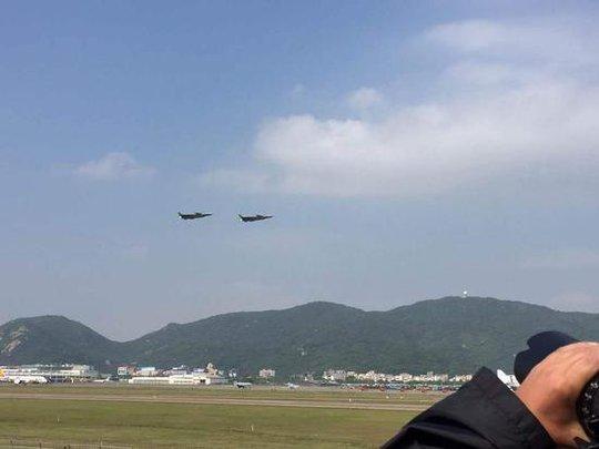 Buổi triển lãm hàng không ở Trung Quốc được xem là cơ hội để Bắc Kinh chứng tỏ tham vọng hàng không dân dụng và quốc phòng. Ảnh: Sina