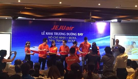 JejuAir tăng tần suất 5 chuyến bay/ngày từ Việt Nam đến Seoul - Ảnh 1.