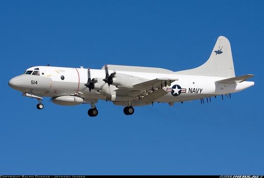 Máy bay EP-3E Aries II. Ảnh: AIRLINERS