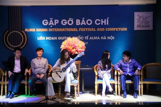 Anh tài hội tụ tại liên hoan guitar quốc tế Hà Nội - Ảnh 1.