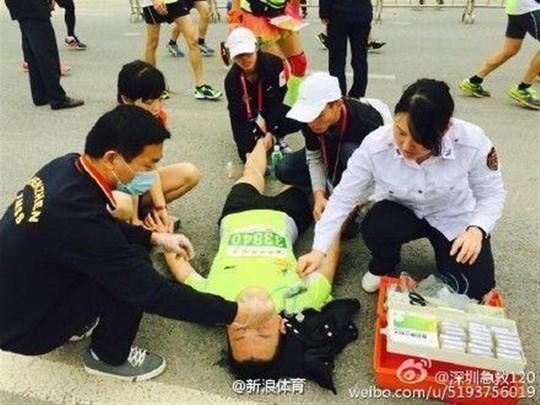 Trung Quốc: Nhiều người chết khi chạy marathon - Ảnh 1.