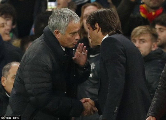 Conte nói sốc Mourinho trước đại chiến - Ảnh 1.