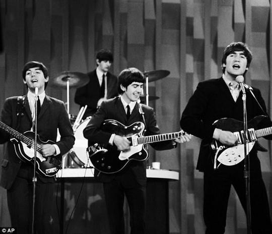 Nhóm Beatle thuở còn trẻ