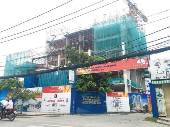 Một dự án căn hộ có giá mềm đang được triển khai tại khi Tây Sài Gòn