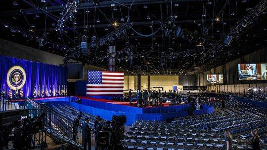 Trung tâm hội nghị lớn nhất Bắc Mỹ, McCormick Place, nơi Tổng thống Obama phát biểu hôm 10-1.