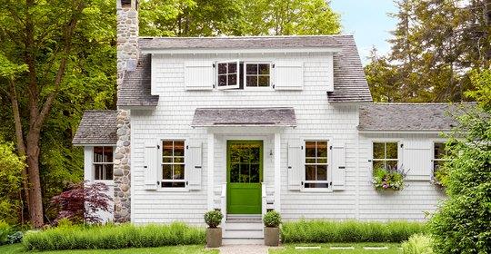 Ngôi nhà 2 tầng mang phong cách đồng quê - Ảnh 1.