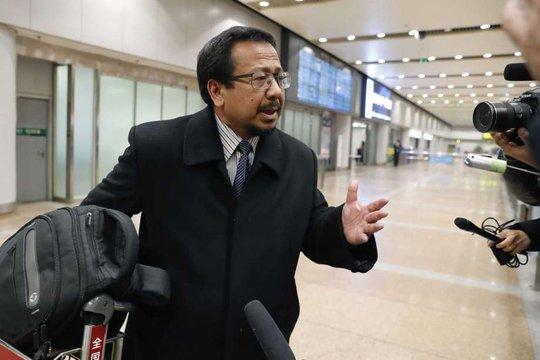 Đại sứ Malaysia tại Triều Tiên Mohamad Nizan Mohamad. Ảnh: AP