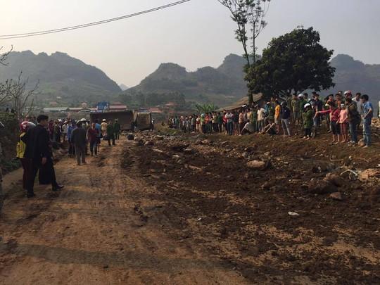 Hiện trường vụ tai nạn khiến 3 người chết - Ảnh: CTV