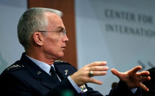 Phó Tổng tham mưu trưởng liên quân Mỹ Paul Selva. Ảnh: REUTERS