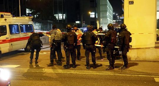 Cảnh sát Thụy Sĩ làm nhiệm vụ. Ảnh minh họa: REUTERS