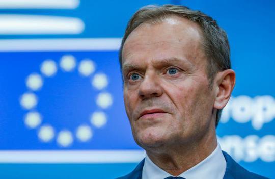 Chủ tịch Hội đồng Châu Âu (EC) Donald Tusk. Ảnh: REUTERS