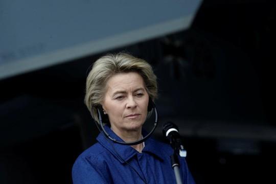Nữ Bộ trưởng Quốc phòng Đức Ursula von der Leyen. Ảnh: REUTERS