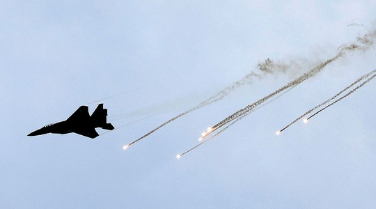 Chiến đấu cơ F-15 của Israel. Ảnh: REUTERS