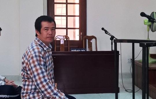 Bị cáo Nguyễn Văn Nghiêng tại phiên tòa.