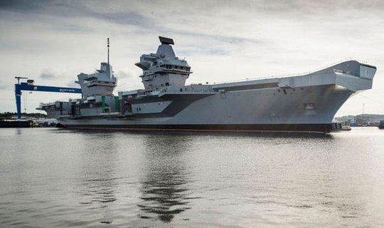 được cho là có thể phá hủy tàu sân bay trị giá 6 tỉ bảng Anh của hải quân Hoàng gia Anh chỉ với một lần phóng duy nhất. Ảnh: PA