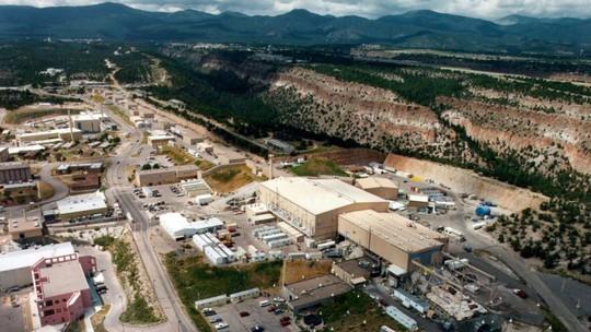 Phòng thí nghiệm quốc gia Los Alamos ở bang New Mexico – Mỹ. Ảnh: AP