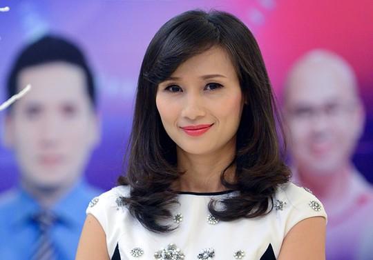 Bà Lê Bình tại sự kiện ra mắt VTV24 - Ảnh: Zing