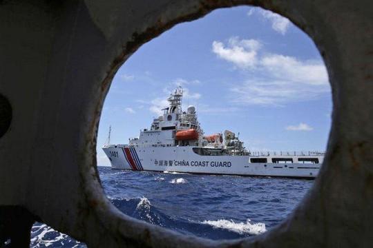 Trung Quốc ngang nhiên tuyên bố chủ quyền hơn 80% biển Đông. Ảnh: KYODO NEWS