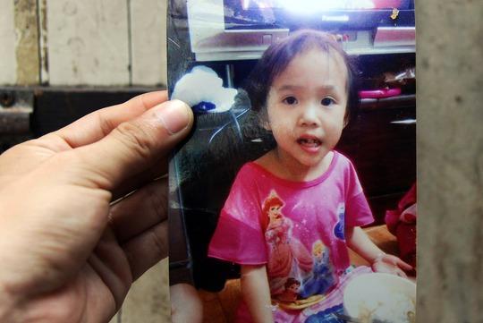 Hỉnh ảnh bé Trần Thu Trang.