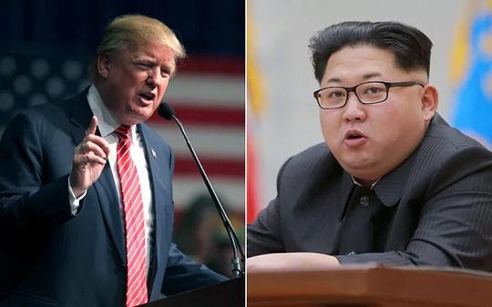 Ông Trump (trái) và ông Kim Jong-un. Ảnh: AP