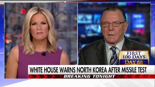Tướng Mỹ về hưu Jack Keane (phải). Ảnh: FOX NEWS INSIDER