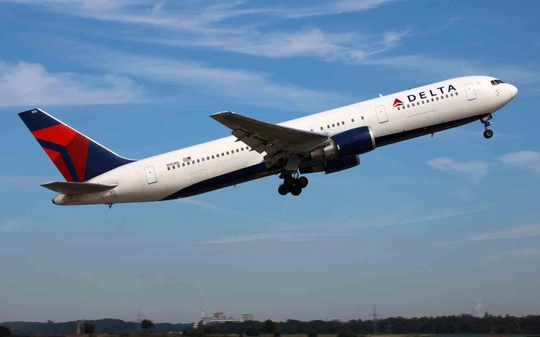 Máy bay của hang Delta. Ảnh: AP