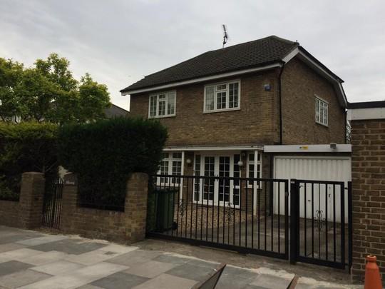Căn nhà bía ẩn ở quận Blackheath, Đông Nam thủ đô London. Ảnh: SWNS