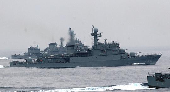 Quân đội Hàn Quốc sẽ chuyển nhượng một tàu chiến chống ngầm cũ lớp Pohang cho Philippines trong năm nay. Ảnh: MAX DEFENSE