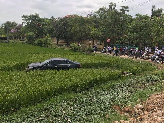 Tài xế Toyota Camry tông chết 3 học sinh là cán bộ bệnh viện - Ảnh 1.